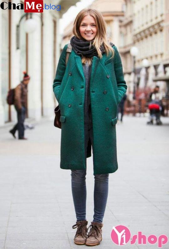 112+ Áo khoác dạ nữ dáng suông hàn quốc đẹp ấm áp đông 2021 - 2022