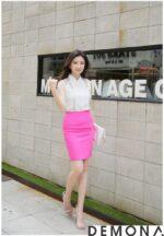 12+ Chân váy đẹp màu hồng hè 2021 – 2022 cho bạn gái bụng bự