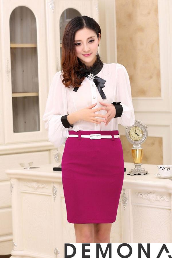 12+ Chân váy đẹp màu hồng hè 2019 cho bạn gái bụng bự phần 12