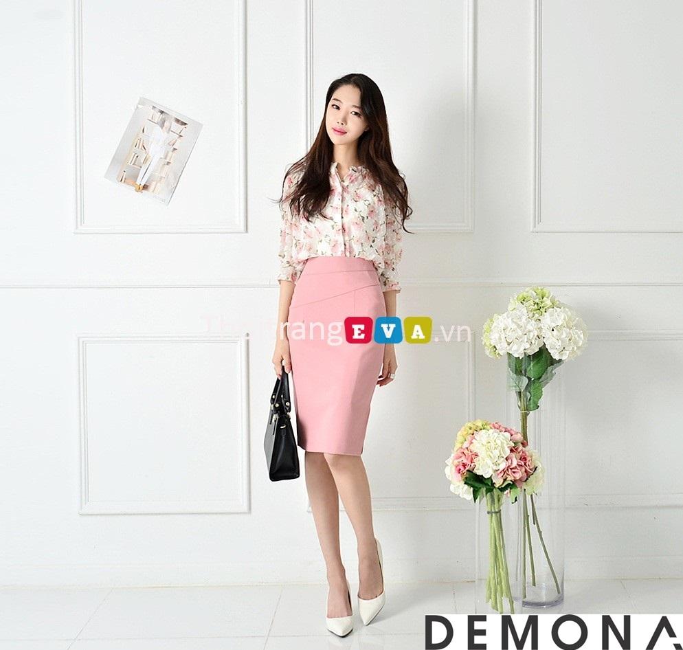 12+ Chân váy đẹp màu hồng hè 2019 cho bạn gái bụng bự phần 5