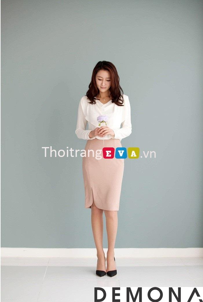 12+ Chân váy đẹp màu hồng hè 2019 cho bạn gái bụng bự phần 6