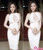 12 kiểu váy khoét ngực đẹp cho nàng khoe vòng một gợi cảm ngày hè 2021 – 2022