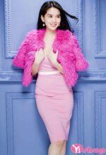 14+ Váy đầm ôm body đẹp xuân hè 2021 – 2022 của Ngọc Trinh quyến rũ