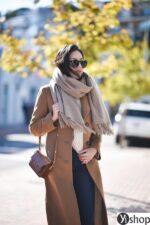 15 kiểu áo khoác nữ màu camel đẹp thu đông 2021 – 2022 cho nàng dạo phố