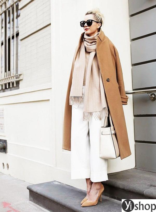 15 kiểu áo khoác nữ màu camel đẹp thu đông 2021 - 2022 cho nàng dạo phố phần 14