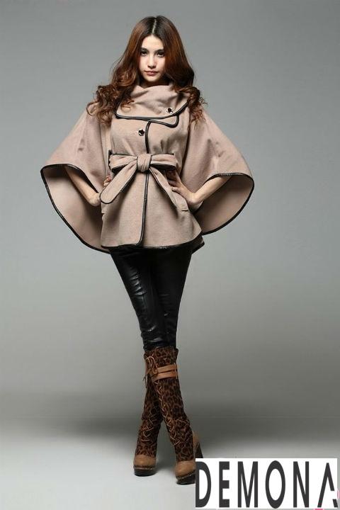 20 Kiểu áo khoác dạ nữ hàn quốc đẹp thời trang thu đông 2019 – 2021 phần 7
