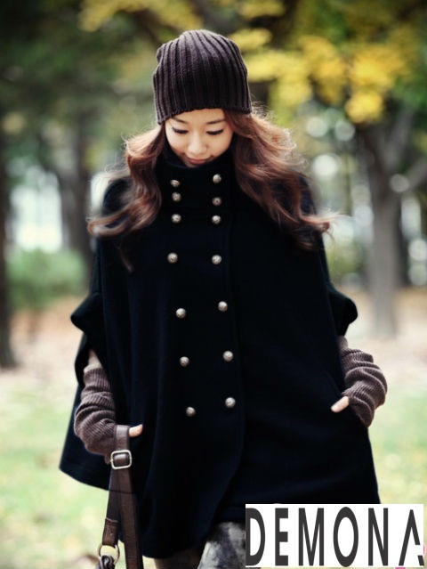 20 Kiểu áo khoác dạ nữ hàn quốc đẹp thời trang thu đông 2019 – 2021 phần 8