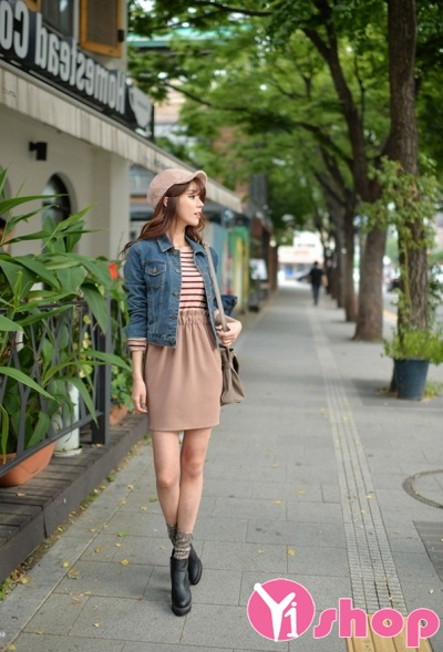 20 Kiểu áo khoác jean nữ đẹp thu đông 2021 - 2022 HOT nhất