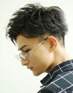 28 kiểu tóc nam uốn xoăn undercut ngắn đẹp sành điệu nên thử
