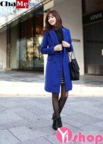 3 kiểu áo khoác măng tô nữ đẹp đông 2021 – 2022 trẻ trung thanh lịch