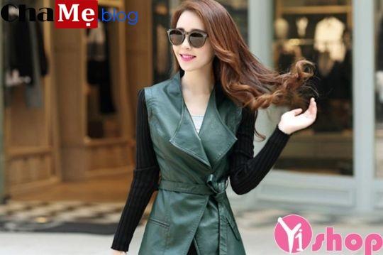 3 kiểu áo khoác măng tô nữ đẹp đông 2021 - 2022 trẻ trung thanh lịch