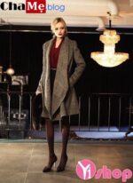 3 kiểu áo khoác nữ đẹp đông 2021 – 2022 phong cách Hàn Quốc ấm áp
