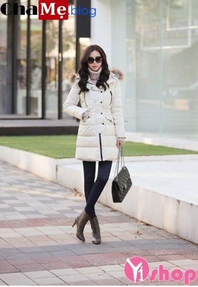 3 kiểu áo khoác phao nữ đẹp Hàn Quốc ấm áp dạo phố đông 2021 - 2022