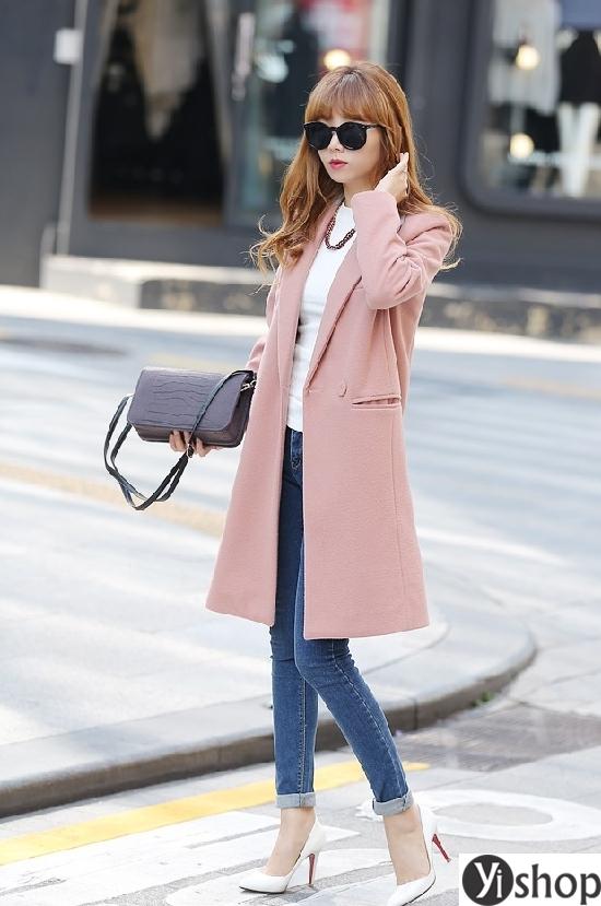 4 kiểu áo khoác nữ hàn quốc công sở đẹp đang thịnh hành nhất thu đông 2021 - 2022 phần 12