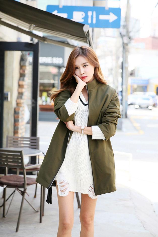 4 kiểu áo khoác nữ hàn quốc đẹp bạn gái nên có trong tủ đồ thu đông 2021 - 2022 phần 12