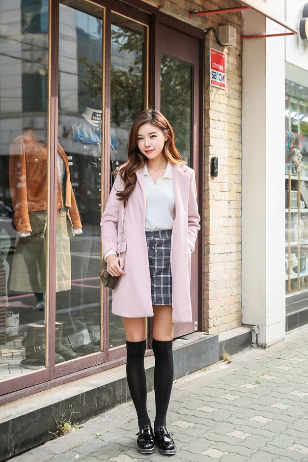 4 kiểu áo khoác nữ hàn quốc đẹp bạn gái nên có trong tủ đồ thu đông 2021 - 2022 phần 4