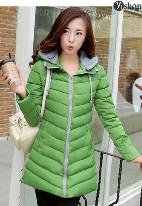 4 kiểu áo khoác nữ Hàn Quốc đẹp mùa đông 2021 - 2022 ấm áp không lạnh
