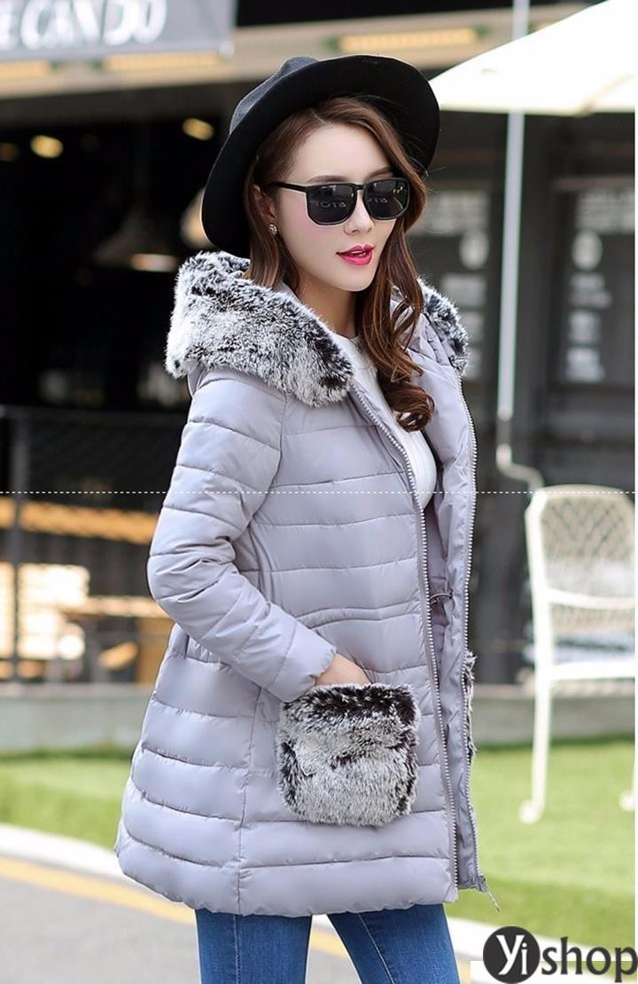 50 kiểu áo khoác phao nữ đẹp nhất thu đông 2021 - 2022 ấm áp không lạnh phần 10