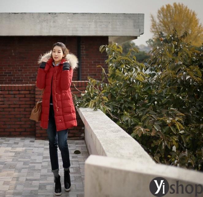 50 kiểu áo khoác phao nữ đẹp nhất thu đông 2021 - 2022 ấm áp không lạnh phần 13