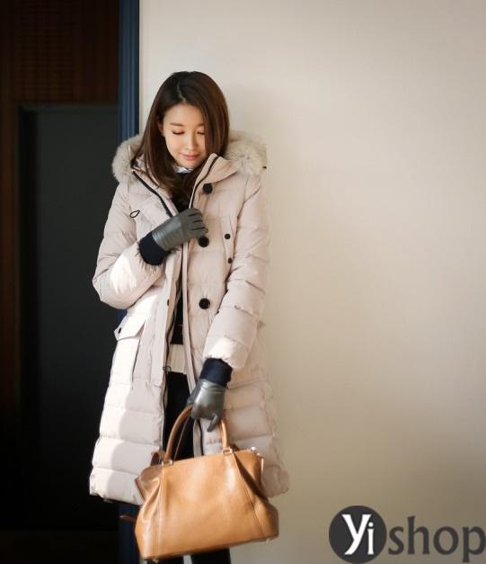 50 kiểu áo khoác phao nữ đẹp nhất thu đông 2021 - 2022 ấm áp không lạnh phần 21