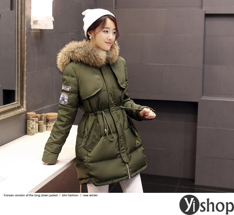 50 kiểu áo khoác phao nữ đẹp nhất thu đông 2021 - 2022 ấm áp không lạnh phần 4