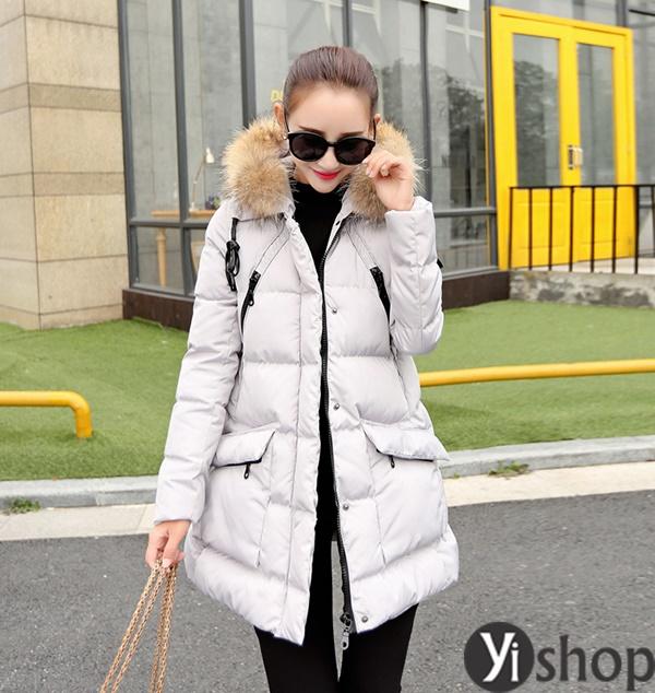 50 kiểu áo khoác phao nữ đẹp nhất thu đông 2021 - 2022 ấm áp không lạnh phần 6