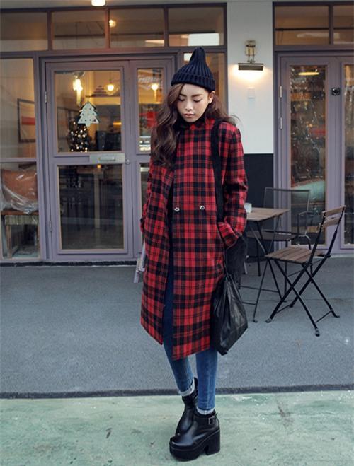 6 mẫu áo khoác dạ nữ kẻ caro đẹp cho nàng công sở sang chảnh thu đông 2019