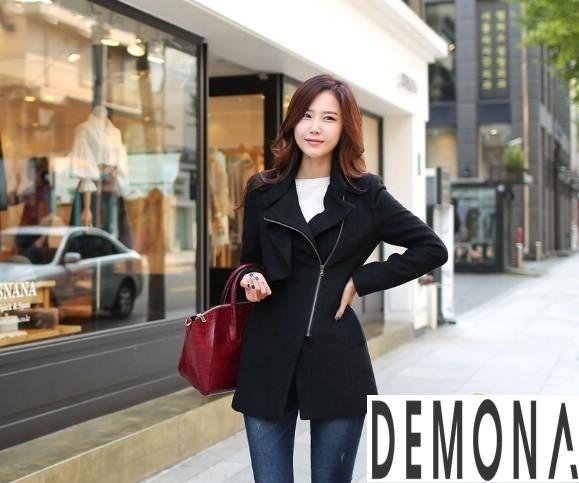 9 Kiểu áo khoác dạ nữ cổ cao đẹp công sở ấm áp thu đông 2019 – 2021 phần 12