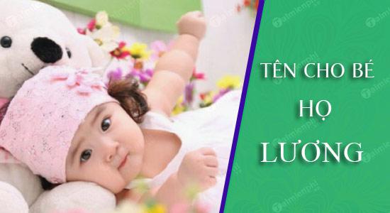 Đặt tên cho con họ theo Lương sinh năm 2021 Tân Sửu: Tên đẹp cho bé trai, bé gái