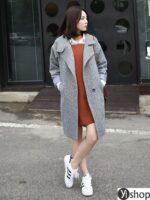 Áo khoác blazer dạ nữ đẹp kiểu hàn quốc công sở hot nhất thu đông 2021 – 2022