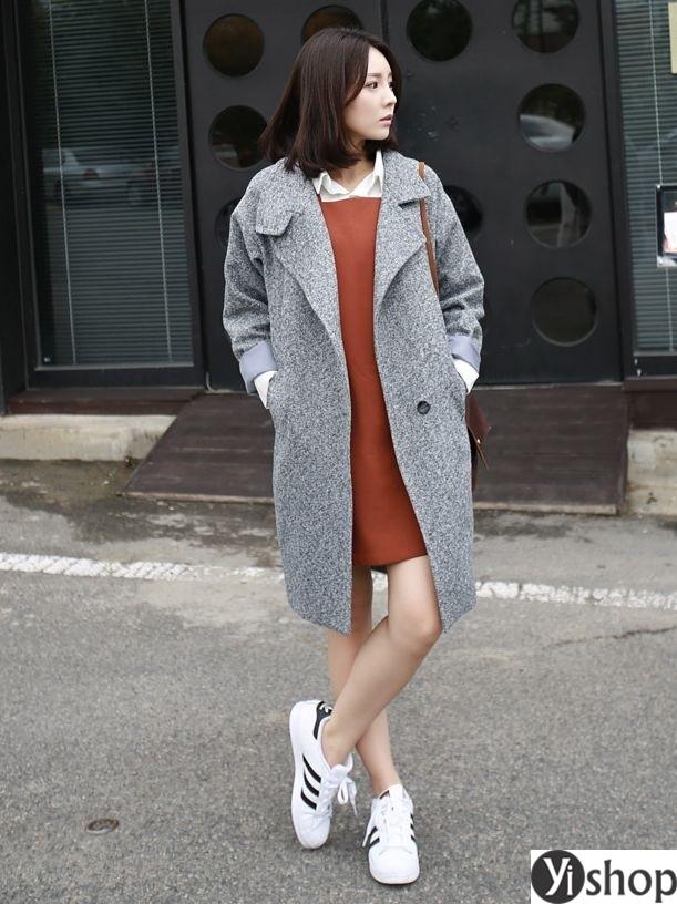 Áo khoác blazer dạ nữ đẹp kiểu hàn quốc công sở hot nhất thu đông 2021 - 2022 phần 1