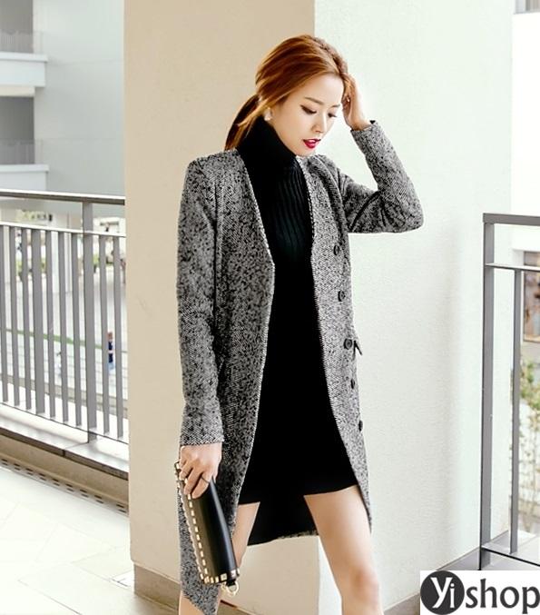 Áo khoác blazer dạ nữ đẹp kiểu hàn quốc công sở hot nhất thu đông 2021 - 2022 phần 4