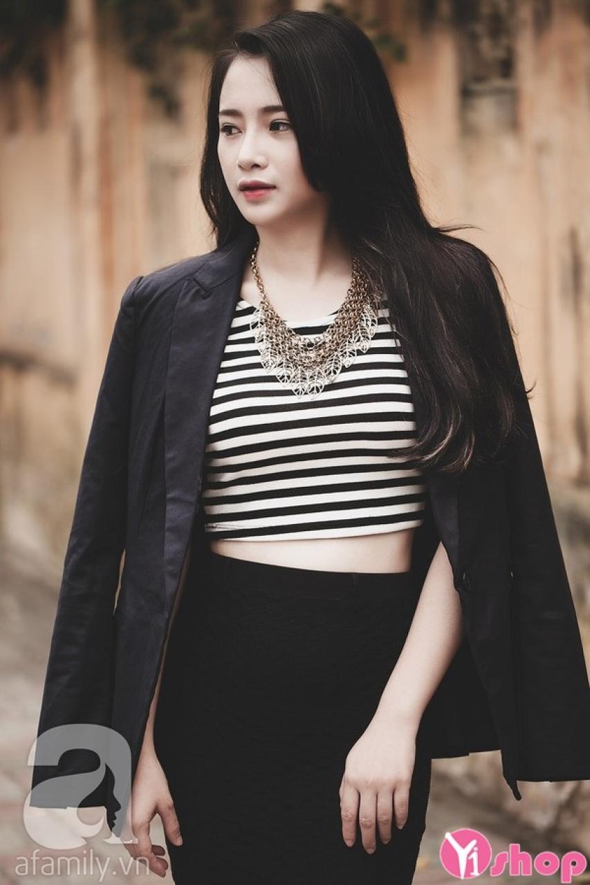 Áo khoác blazer nữ đen đẹp gợi cảm thu đông 2021 - 2022 cho nàng công sở