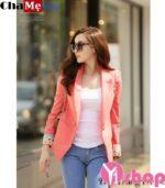 Áo khoác blazer nữ đẹp đông 2021 – 2022 kiểu Hàn Quốc thanh lịch