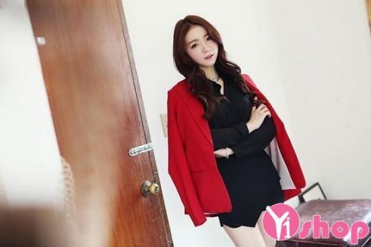 Áo khoác blazer nữ màu sắc đẹp cho nàng công sở xinh tươi thu đông 2019
