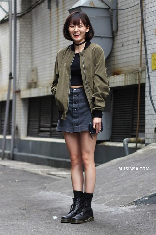 Áo khoác bomber nữ đẹp xu hướng thời trang mới nhất thu đông 2021 - 2022 phần 10