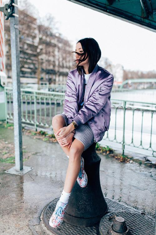 Áo khoác bomber nữ đẹp xu hướng thời trang mới nhất thu đông 2021 - 2022 phần 12