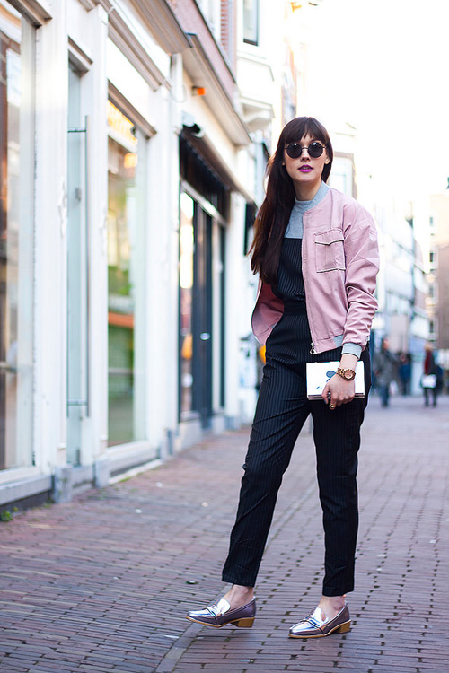 Áo khoác bomber nữ đẹp xu hướng thời trang mới nhất thu đông 2021 - 2022 phần 13