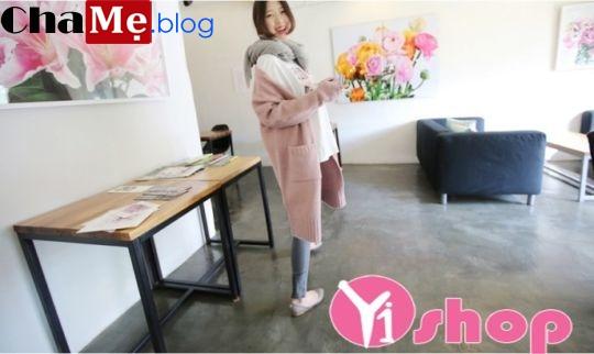 Áo khoác cardigan nữ đẹp nhất đông 2021 - 2022 như hotgirl xứ Hàn