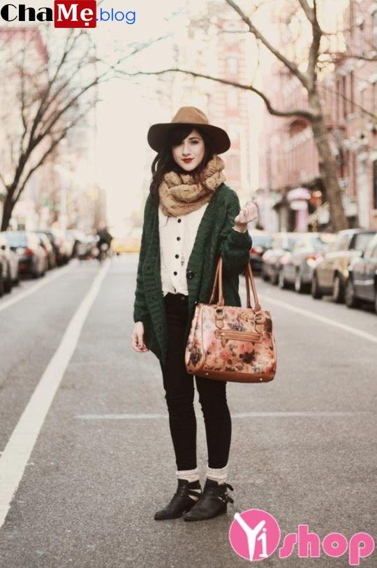 Áo khoác cardigan nữ đẹp thu đông 2021 - 2022 cho nàng ấm áp