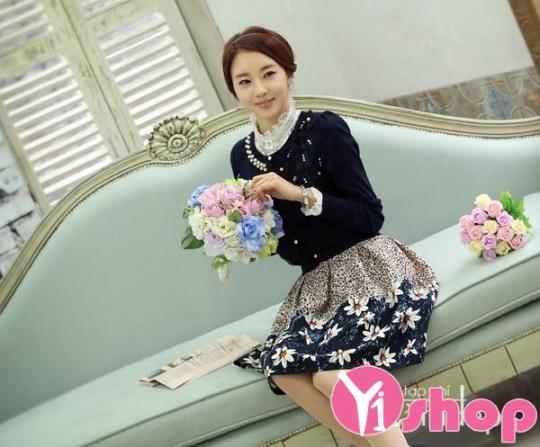 Áo khoác cardigan nữ kiểu Hàn Quốc đẹp cho cô nàng mi nhon thu đông 2019