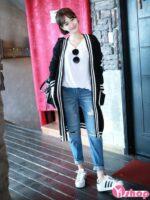 Áo khoác cardigan nữ len đẹp thu đông 2021 – 2022 duyên dáng ngày lạnh