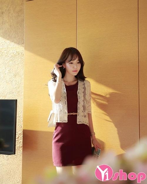 Áo khoác cardigan nữ mỏng đẹp mềm mại quyến rũ thu đông 2019