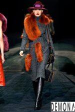 Áo khoác choàng lông nữ đẹp tôn dáng chuẩn thu đông 2021 – 2022