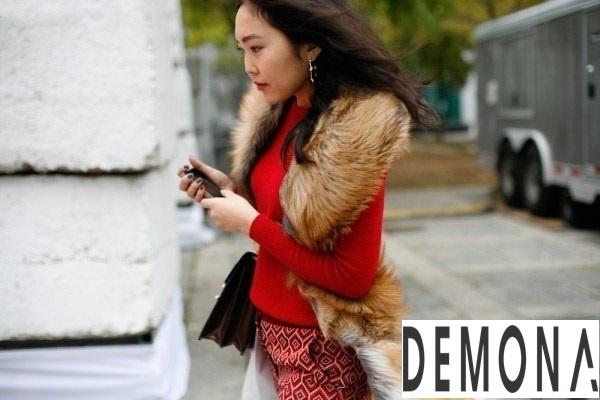 Áo khoác choàng lông vũ nữ đẹp thu đông 2019 – 2021 ấm áp dạo phố phần 1