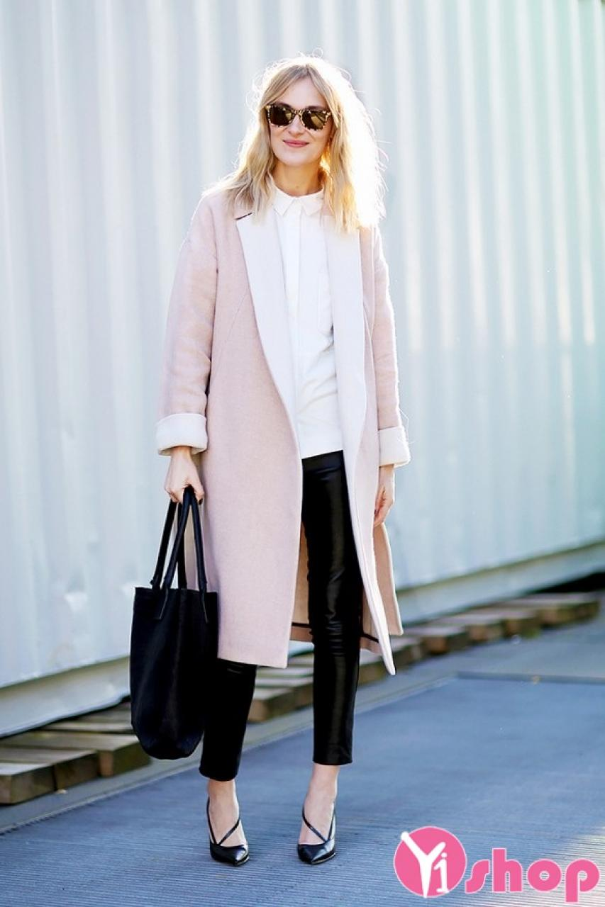 Áo khoác da lộn nữ dáng dài đẹp gợi cảm không lạnh thu đông 2019