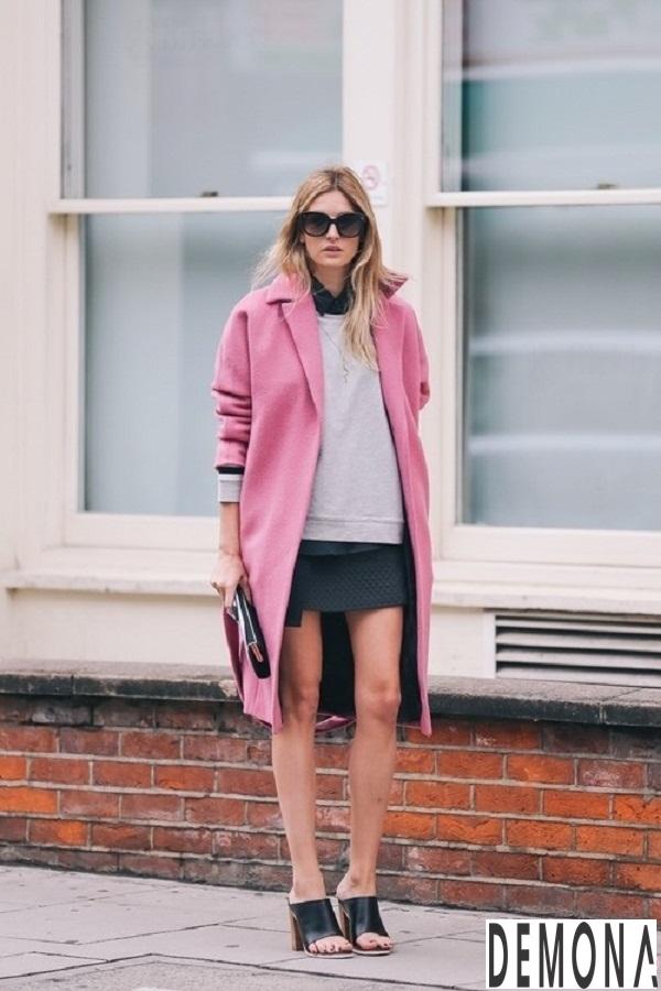 Áo khoác dạ lông nữ đẹp thu đông 2019 – 2021 cho nàng công sở phần 5