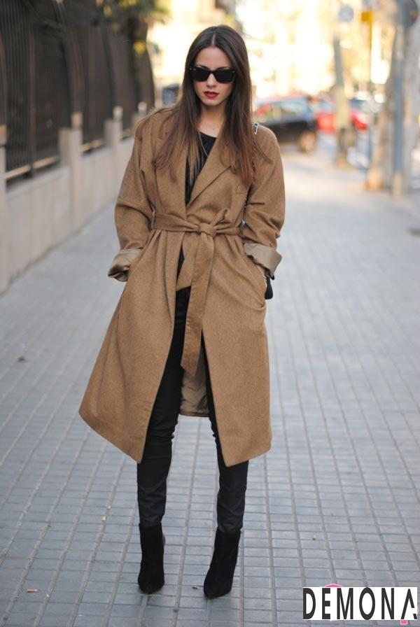 Áo khoác dạ lông nữ màu da đẹp cho cô nàng chân dài tinh tế thu đông 2021 – 2022phần 1