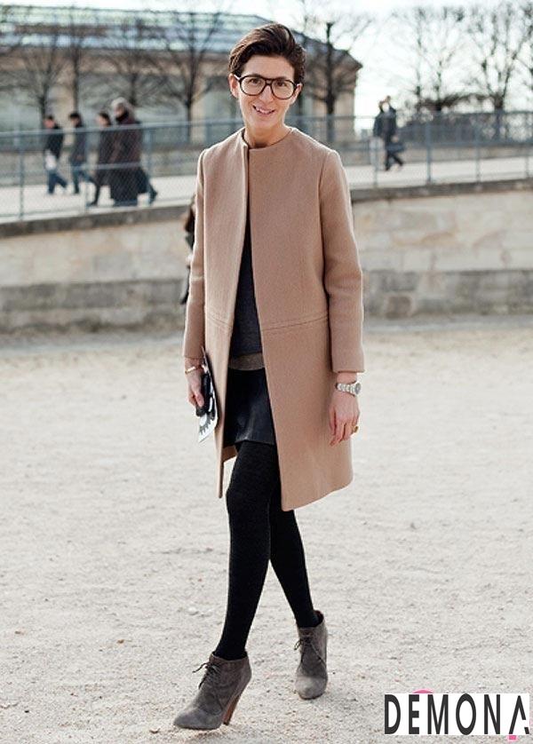 Áo khoác dạ lông nữ màu da đẹp cho cô nàng chân dài tinh tế thu đông 2021 – 2022phần 2