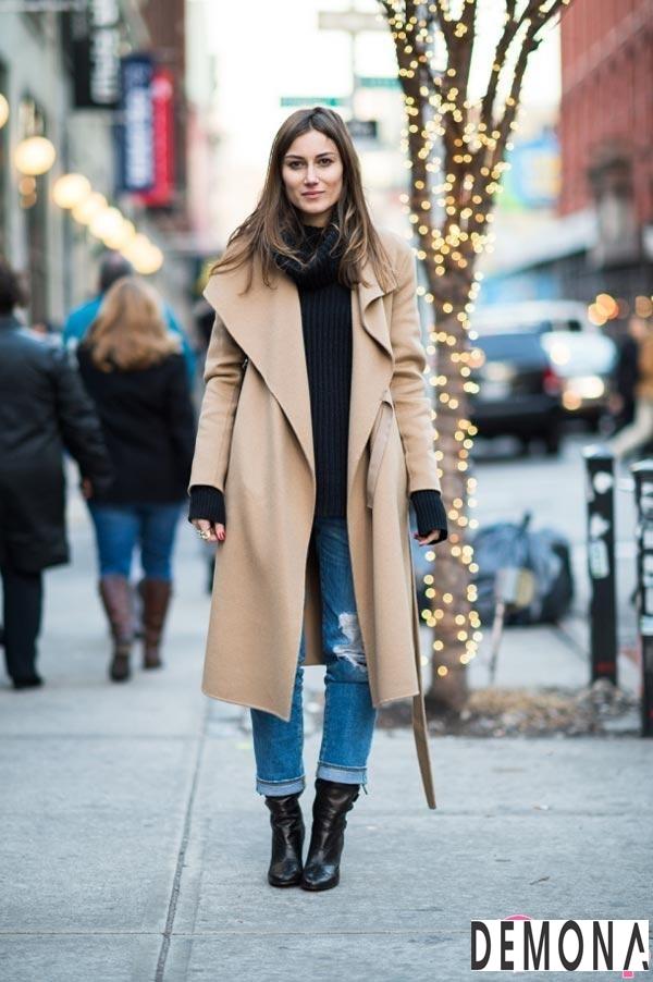 Áo khoác dạ lông nữ màu da đẹp cho cô nàng chân dài tinh tế thu đông 2021 – 2022phần 3